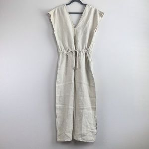 Anthropologie Cloth & Stone Cropped Jumpsuit NWOT!
